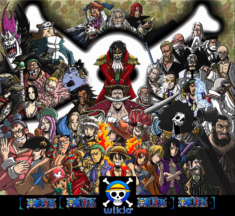 Aqui hay los personajes mas importantes de la ultima saga ( la ultima temporada )